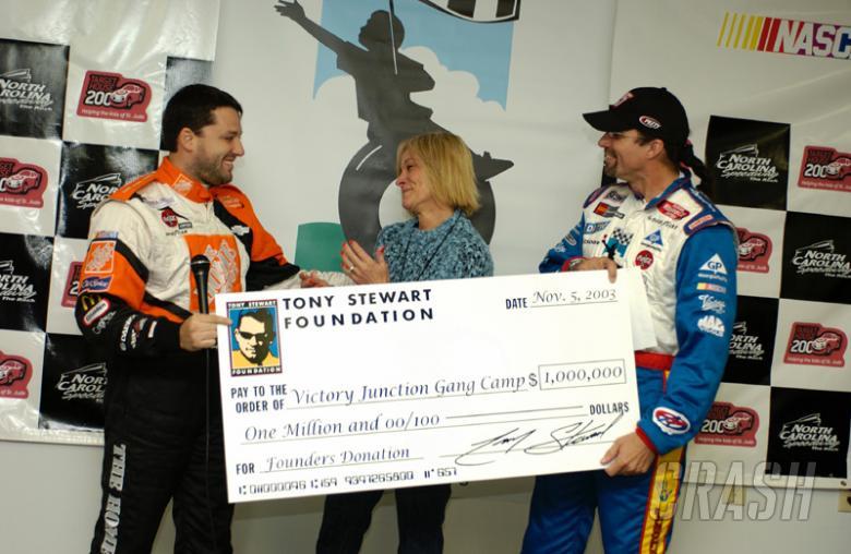 Stewart Foundation donates $1 million to charity.