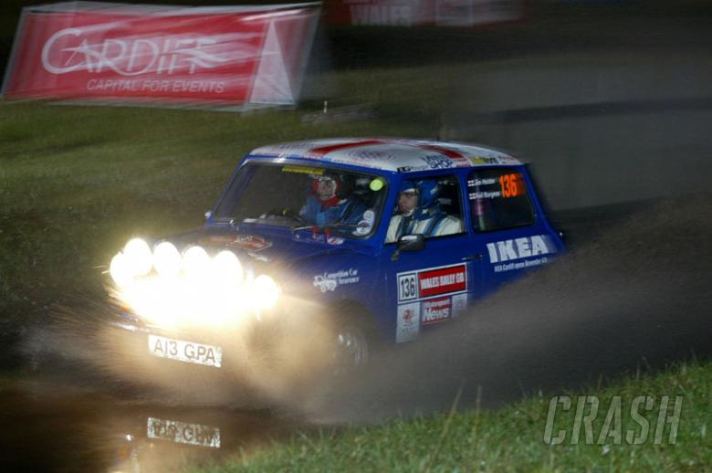 Mini bows out in style on Rally GB.