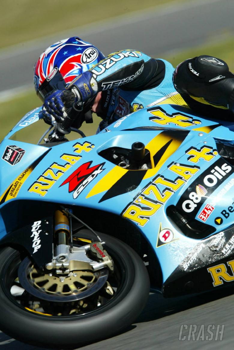 Rizla Suzuki partnership rolls on.
