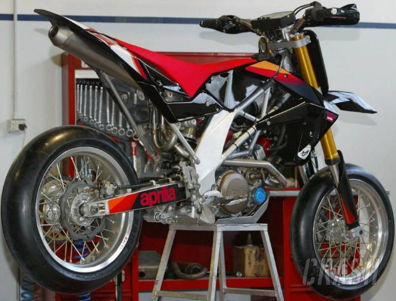 Pictures: Aprilia's new SXV off-road racer.