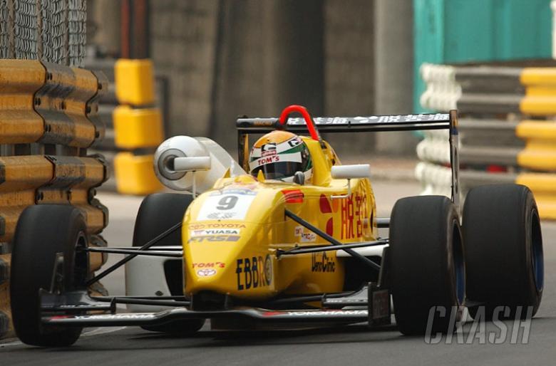 Race result (1) - 50th Macau Grand Prix.