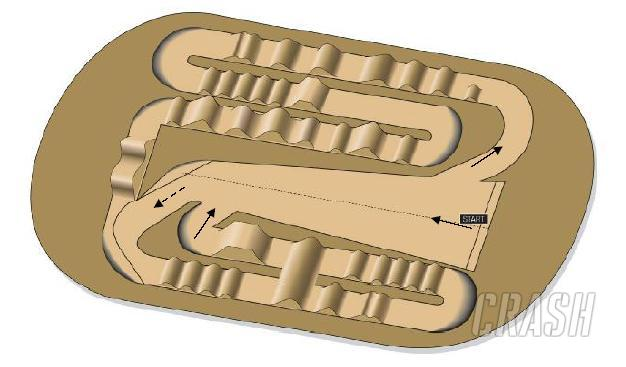 Seville World SX GP track layout revealed.