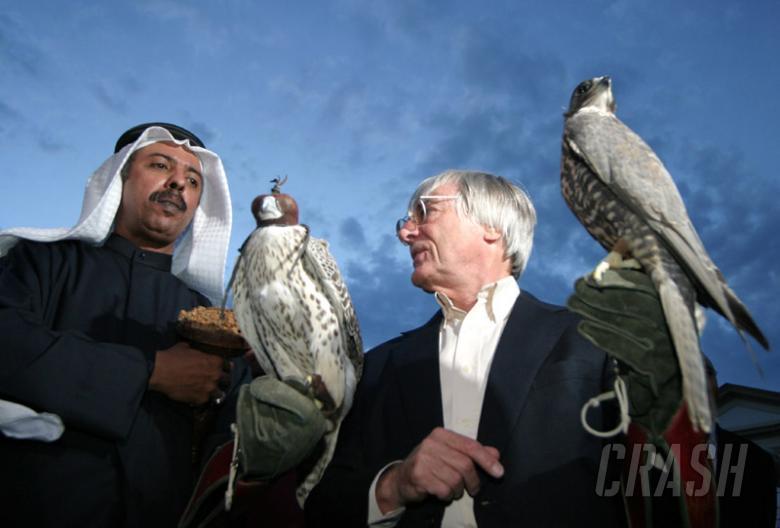 Bernie receives Bahrain's highest honour.