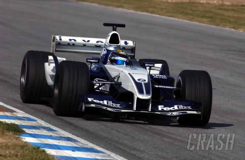 Top test for Williams as Piquet Jr, Rosberg shine.