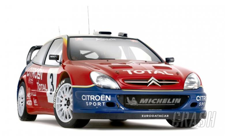 First picture: 2004 Citroen Xsara WRC.