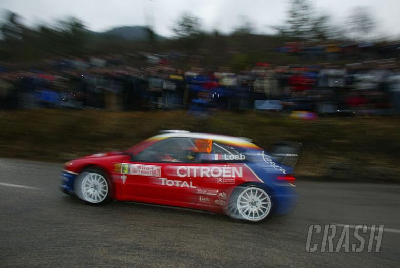 Rallye Automobile Monte Carlo: SS6.