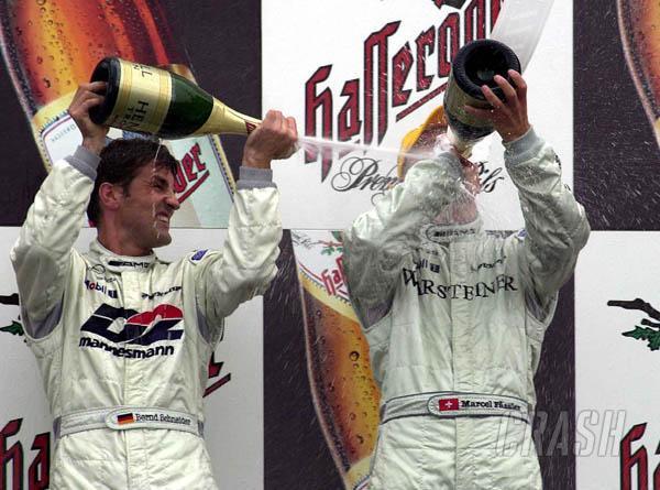 Marcel Fassler scores first DTM win.