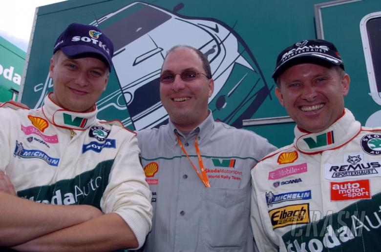 Skoda announces driver line-up, Schwarz to lead.