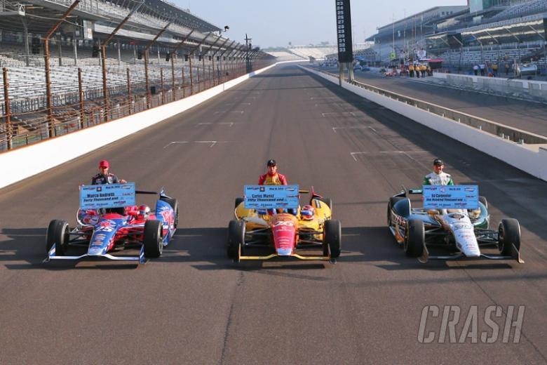 2013 Indy 500: Starting grid