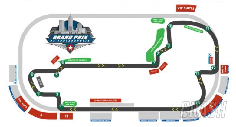 IMS announces details of 2014 road race