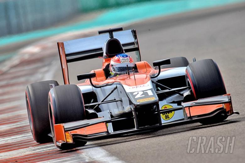Jon Lancaster ends GP2 Abu Dhabi testing on top