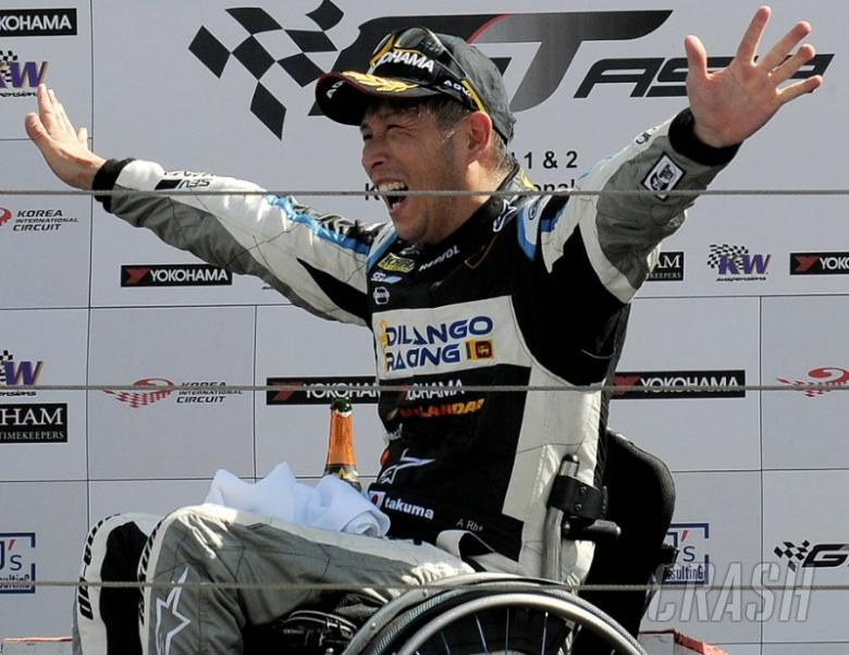 500cc star Takuma Aoki wins Asian GT race