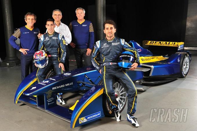 Renault ups involvement, backs e.dams