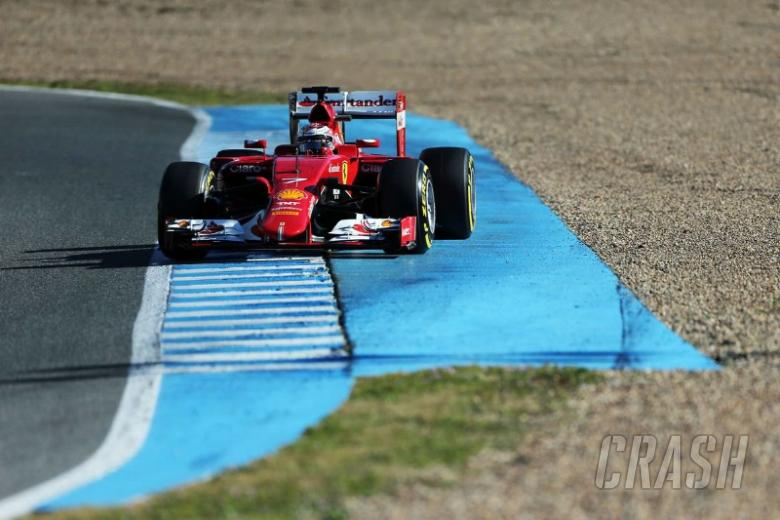 Jerez - F1 test times [Combined]