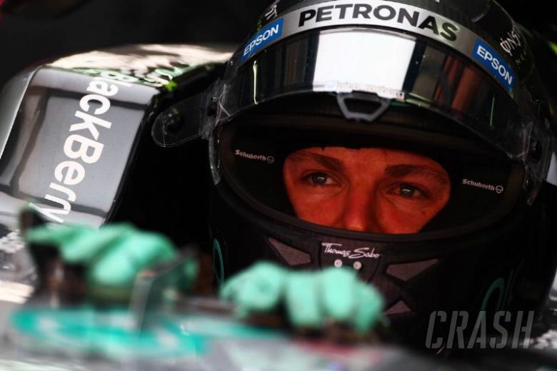Rosberg tops FP1 as Hamilton hits trouble