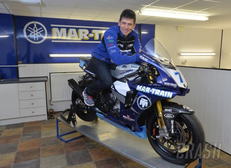 Kneen confirmed at Mar-Train Racing for 2016
