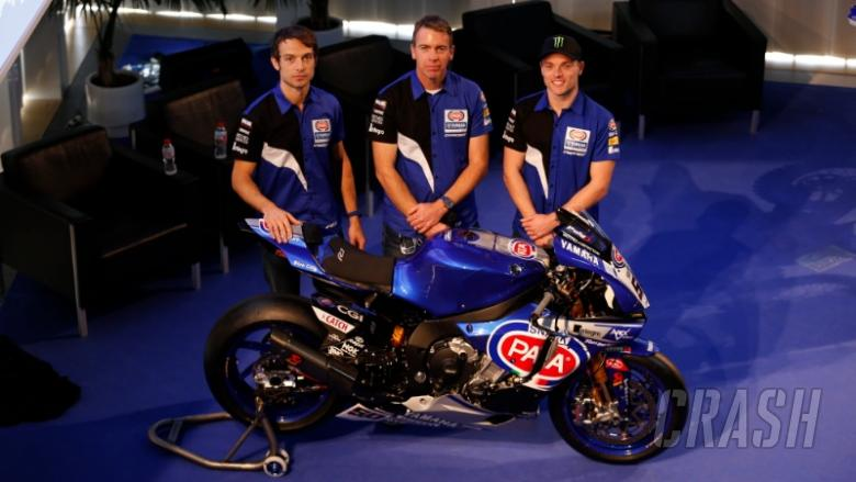 Crescent Yamaha reveals R1 ahead of WSBK return