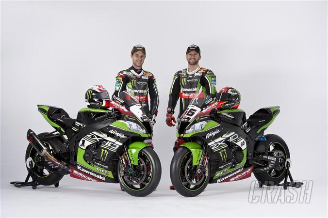 Kawasaki reveals 2016 World Superbike colours
