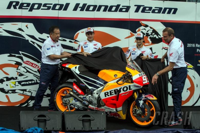 Repsol Honda reveals 2016 MotoGP livery