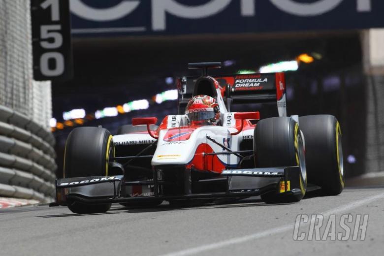 Honda junior Matsushita sprints to Monaco glory