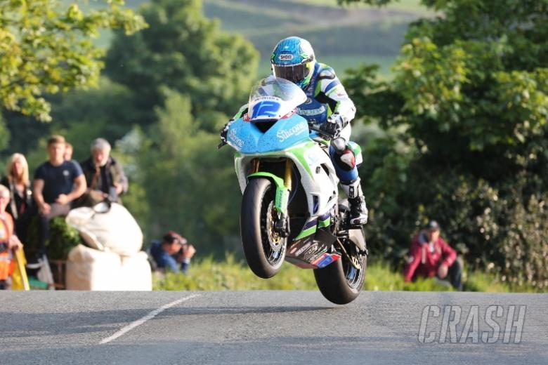 TT 2016: Harrison sets Supersport pace on first night