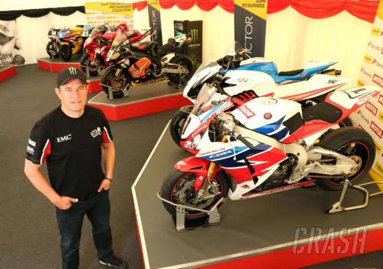 TT 2016: Rare collection of McGuinness bikes on display