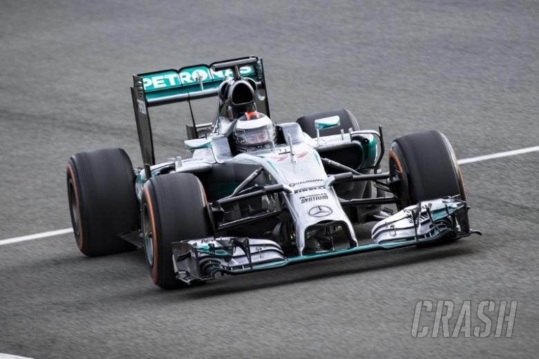 'Dream come true' - Lorenzo drives F1 Mercedes