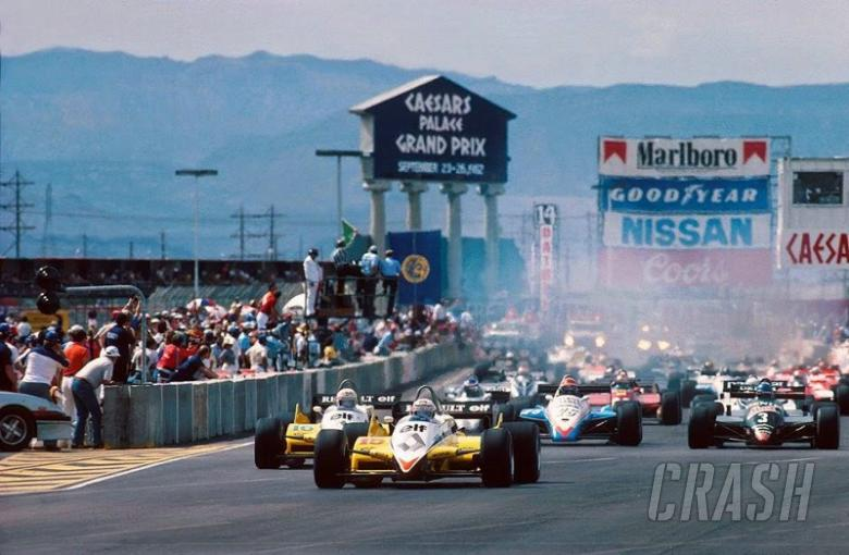 F1 US GP: When F1 held a race in a Las Vegas car park    | F1 | Feature
