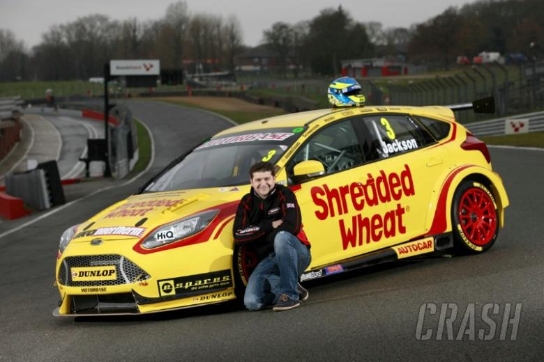 Jackson re-signs for Shredded Wheat Motorbase Performance