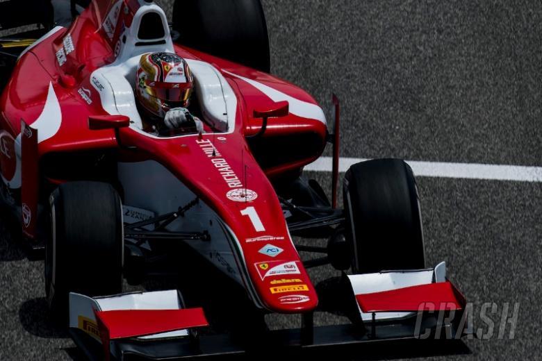 Charles Leclerc takes debut Formula 2 pole in Bahrain