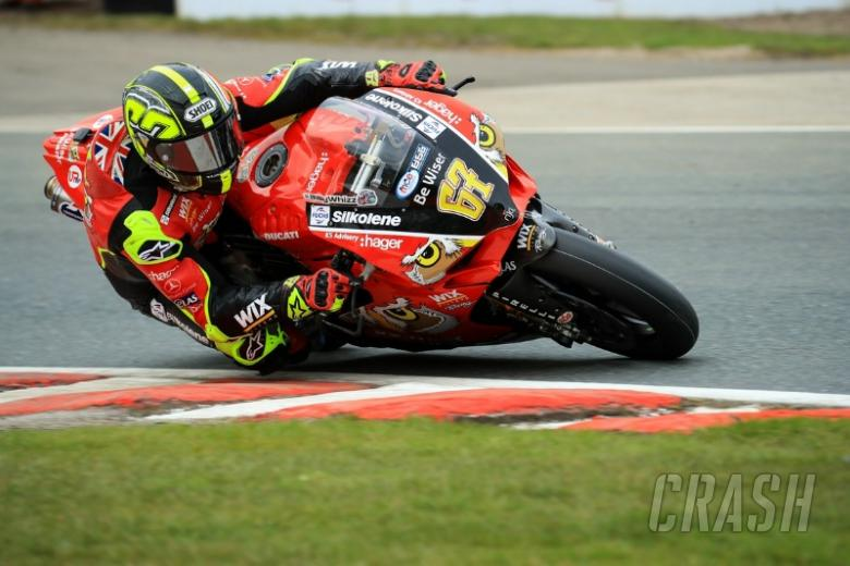 Oulton Park, - Shane Byrne, Be Wiser Ducati, [Credit: Ian Hopgood]