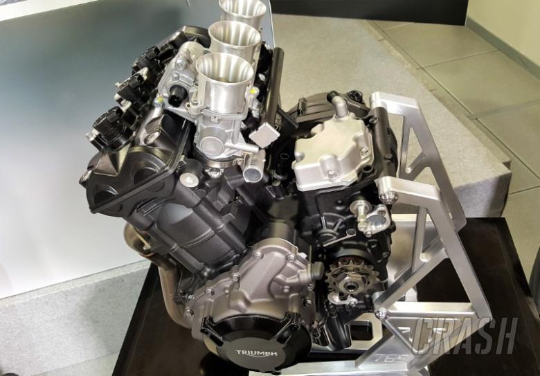 Moto2: Triumph, new ECU set for first test | MotoGP | News