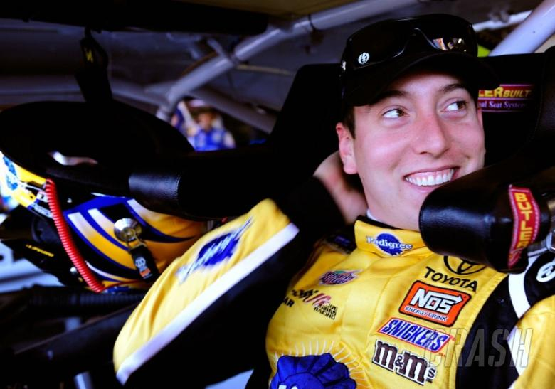 Kyle Busch caught speeding at 128mph