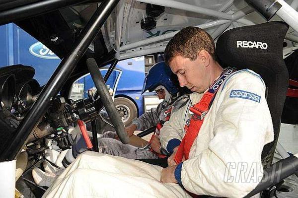 Martin tests new Fiesta R2