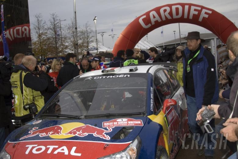 Wales Rally GB - Event timetable