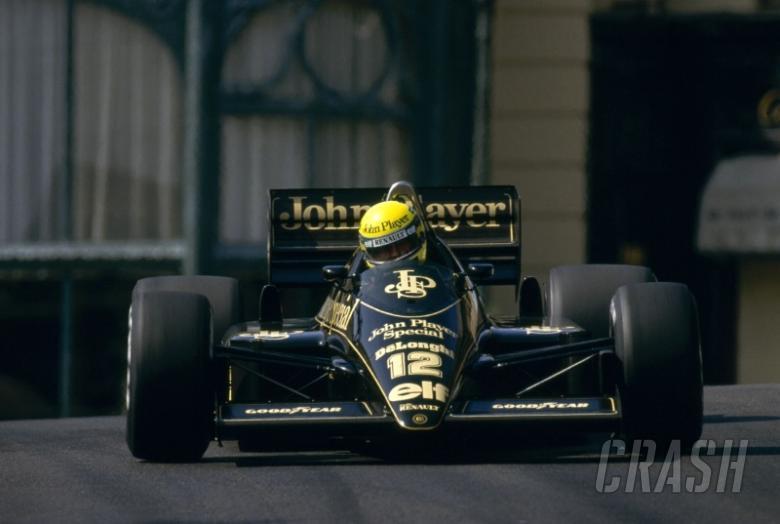 In memory of ... Ayrton Senna: The Lotus years