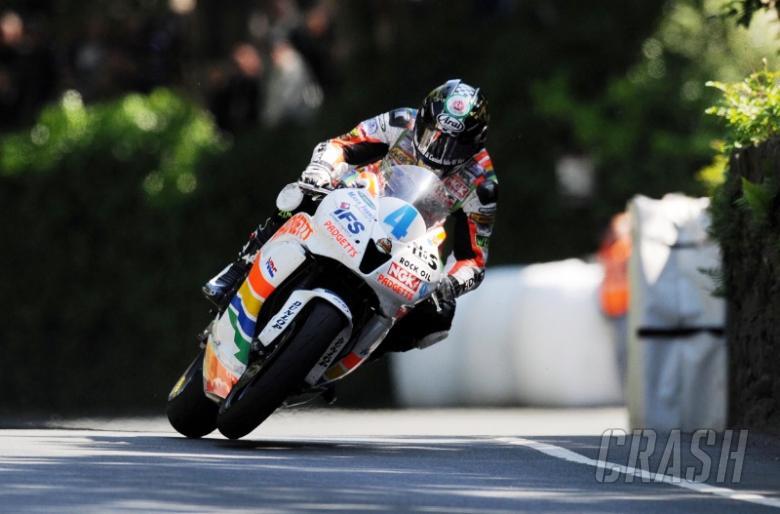 Silverstone crash puts TT star Hutchy in hospital