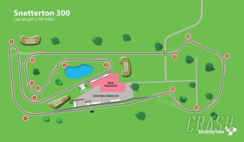 Brogan first to sample Snetterton 300
