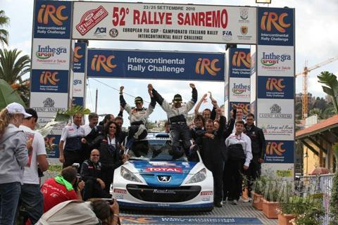 IRC: Andreucci breaks IRC duck in Sanremo