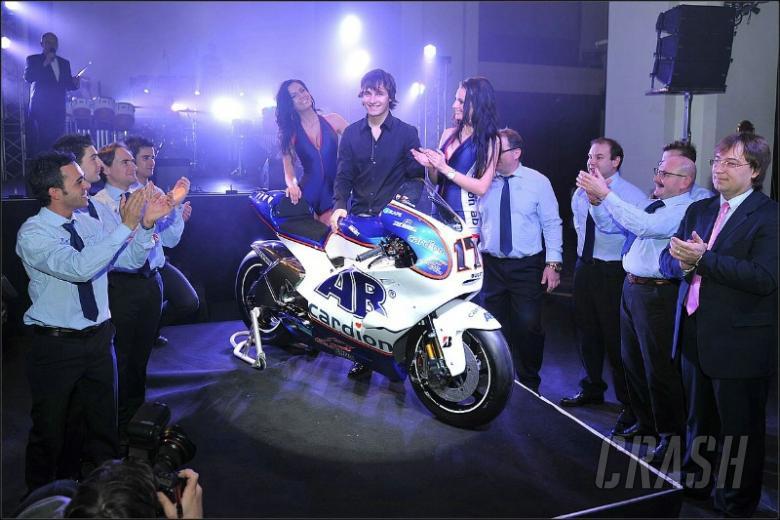 Cardion AB show 2011 MotoGP colours