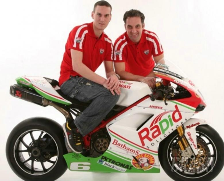 New sponsor secures Rutter, Ducati entry