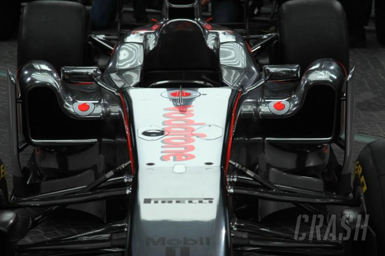 McLaren MP4-26 - technical specifications