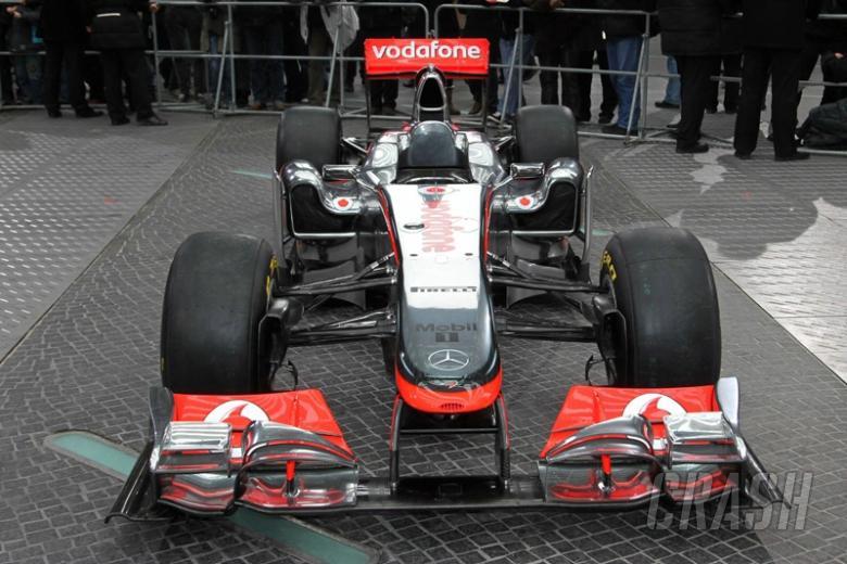 McLaren reveals 'distinctive' MP4-26 in chilly Berlin