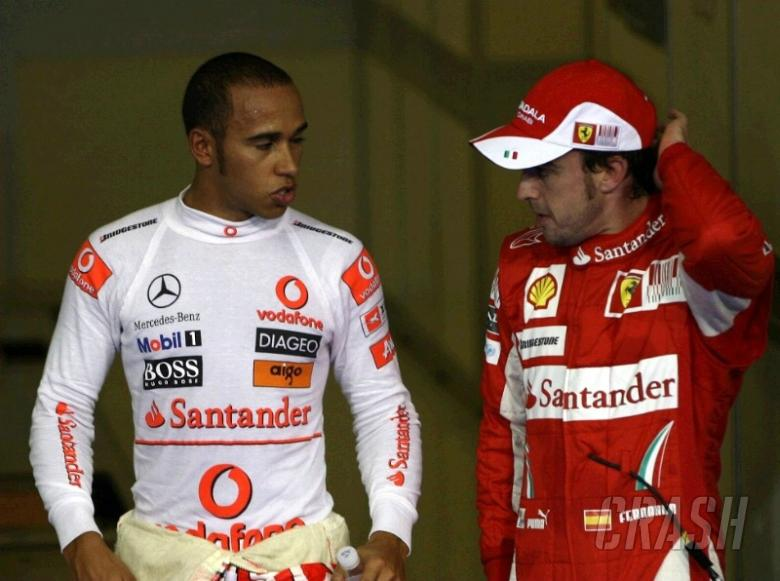 Hamilton: Alonso my nemesis, Prost to my Senna