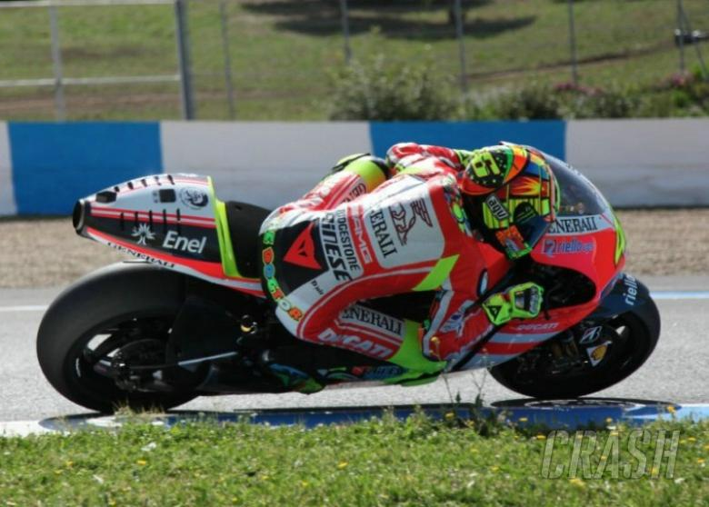 Valentino Rossi has 'fun' on 2012 Ducati debut