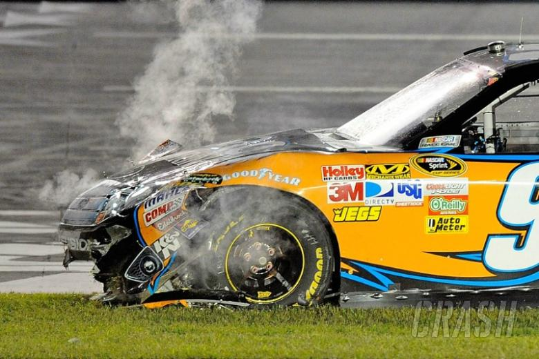 The mystery of Carl Edwards' wreck