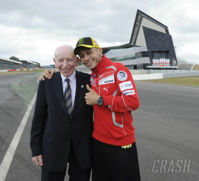 Valentino Rossi makes Silverstone debut