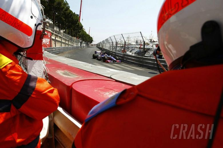 Monaco qualifying split in two