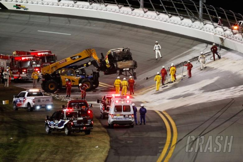 Daytona to repave after Montoya crash