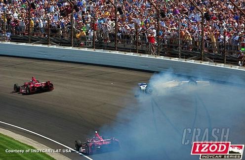 Indy 500: Franchitti, Sato row over crash